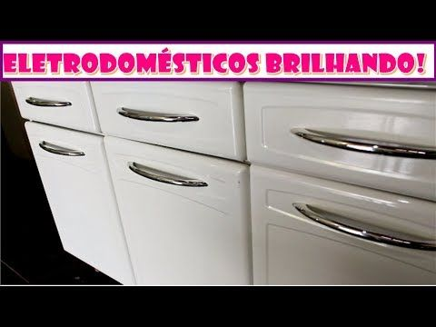 Se os seus eletrodomésticos estão encardidos amarelados, você precisa fazer essa receitinha, super fácil e limpa com muita facilidade, não precisa de esforço nenhum, sem falar que você não vai gastar dinheiro! Deixe tudo brilhando na sua casa...