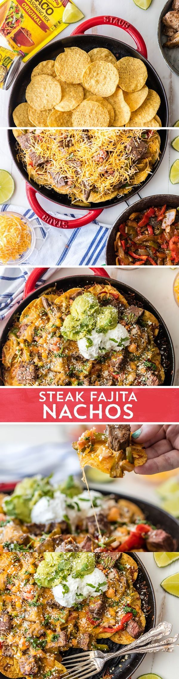 Steak Fajita Nachos