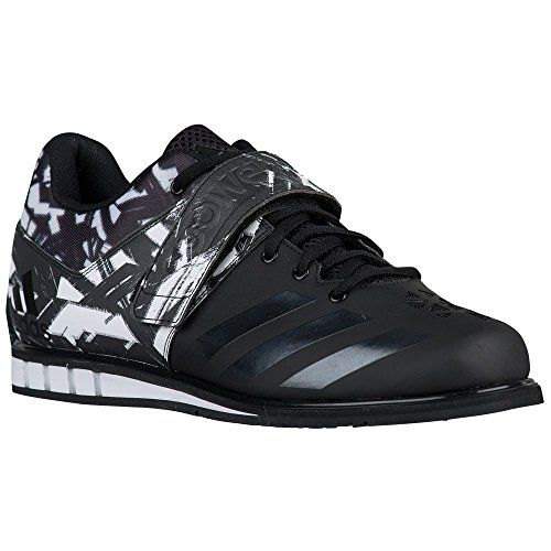 ec9f1428cf8115 Adidas Powerlift 3 Unisex Weightlifting Shoes - Black White - 7.5 UK.  Boxing shoes. Boxing equipment. Boxing accessories. Boxing kit.