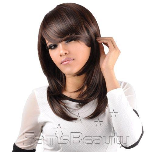 """Studio Cut by Pros Synthetic Hair Wig 18"""" Feather Razor Cut - Samsbeauty"""