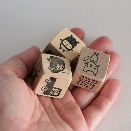 the small object | tell me a story dice