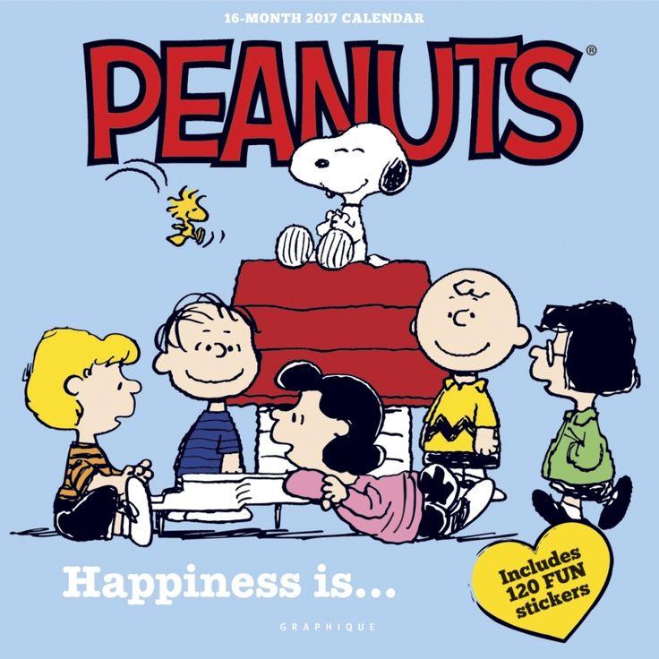 Peanuts Happiness Is Wall Calendar