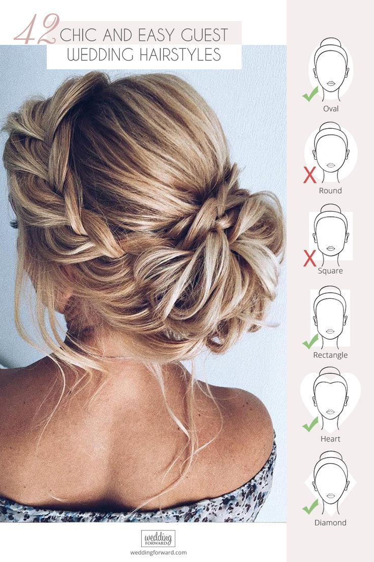 Wedding Guest Hairstyles 42 The Most Beautiful Ideas Wedding Forward In 2020 Easy Wedding Guest Hairstyles Hair Styles Wedding Guest Hairstyles