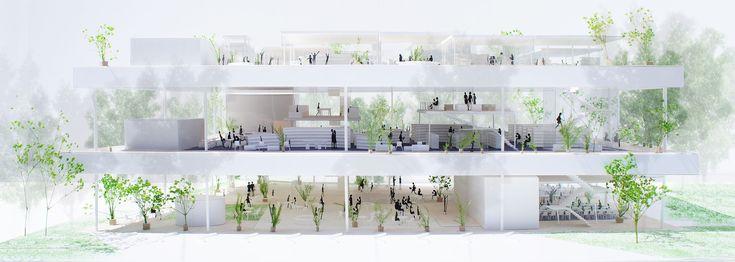 by Hiroyuki Shinozaki Architects