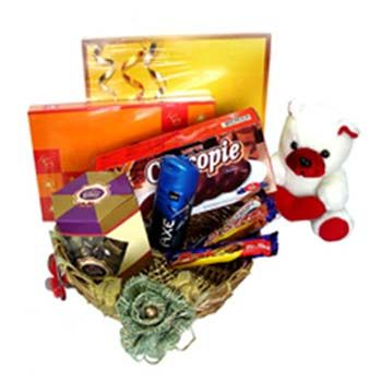 Get best Rakhi Gift Ideas for Sister such as ✔Tops ✔chocolates ✔wallet ✔makeup kit and many more. Present surprising Rakhi Gifts for Sister according to her personality at affordable cost.