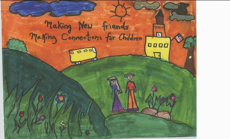 Artwork by Celist (grade 3) from Loyd Elementary School.  Click here to submit your child's talents!  http://www.militarychild.org/parents-and-students/programs/the-call-for-the-arts