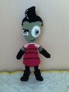 Crochet Invader Zim Patterns : 1000+ images about crocheting on Pinterest