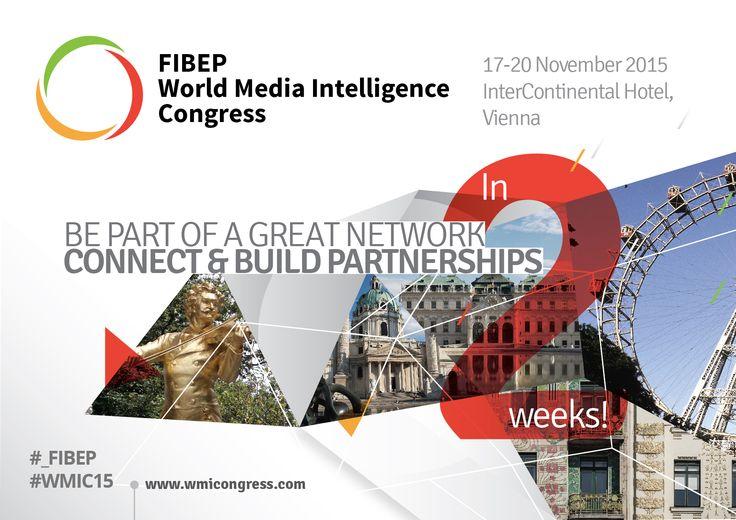 2 weeks until the #_FIBEP #WMIC15 in #Vienna, 17-20 November, 2015.
