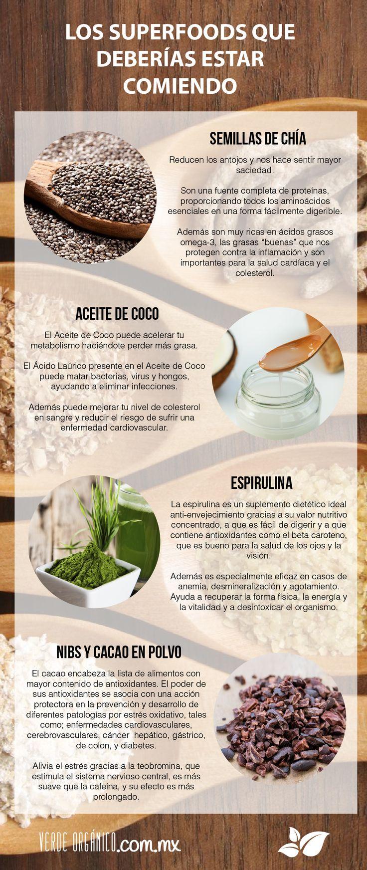 Los superfoods que deberías estar comiendo - Verde Orgánico