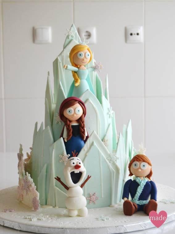 The most amazing Frozen's Birthday Cake