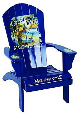Margaritaville by Rio Brands Adirondack Chair, Castaway Bay