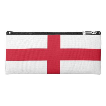Patriotic pencil case with flag of England - stylish gifts unique cool diy customize