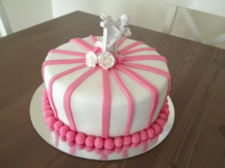 Isabella's christening cake