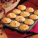 Berry Cream Muffins - made mine with strawberries/blueberries and added a streusel topping. yummy!