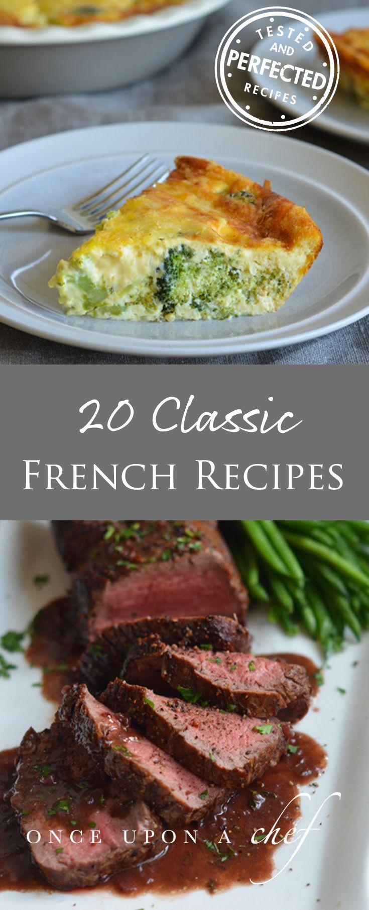 Ooh La La!  20 Classic French Recipes You'll Swoon Over