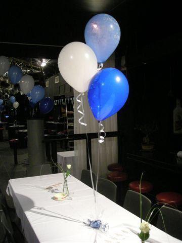 ballonnen blauw wit - Google zoeken