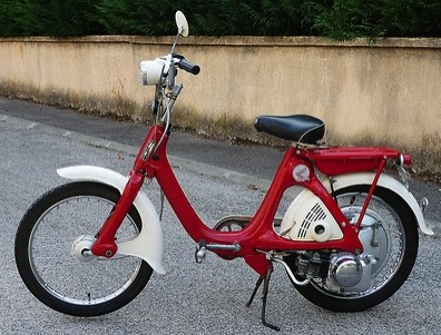 Honda P50 Chopper, France