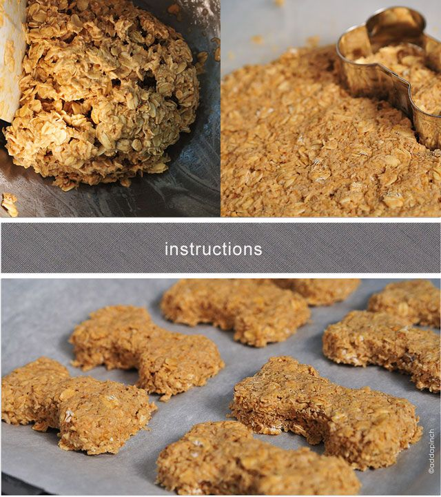 Chicken Breast And Oatmeal Dog Treat