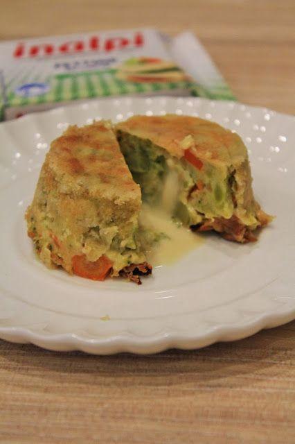 Tortini di verdure invernali ripieni.