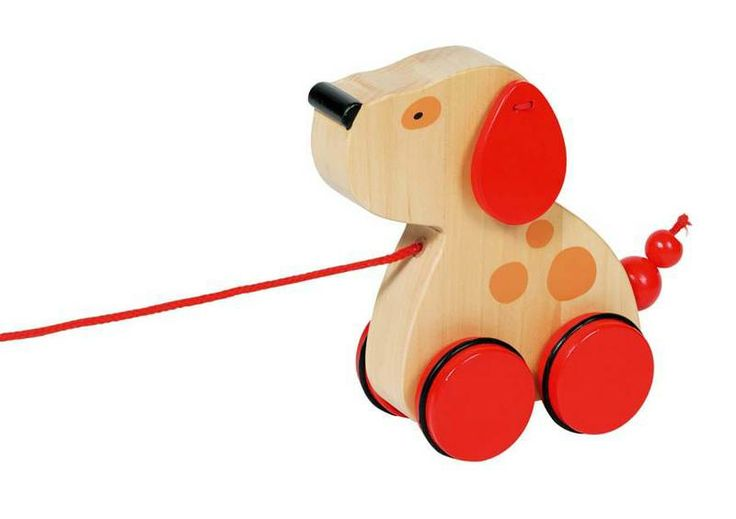 Natural and high quality toys to the development of the skills of children. Dog