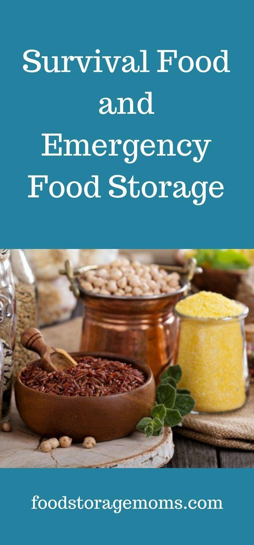 Survival Food and Emergency Food Storage