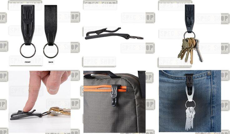 Nite Ize - KeyCLIPse Pocket Clip Key Ring - KSLC-01-R7 - SpecShop - Sklep Militarny, ASG, Airsoft, Noże, Latarki, Multitool, Kamizelki, Obuwie Taktyczne