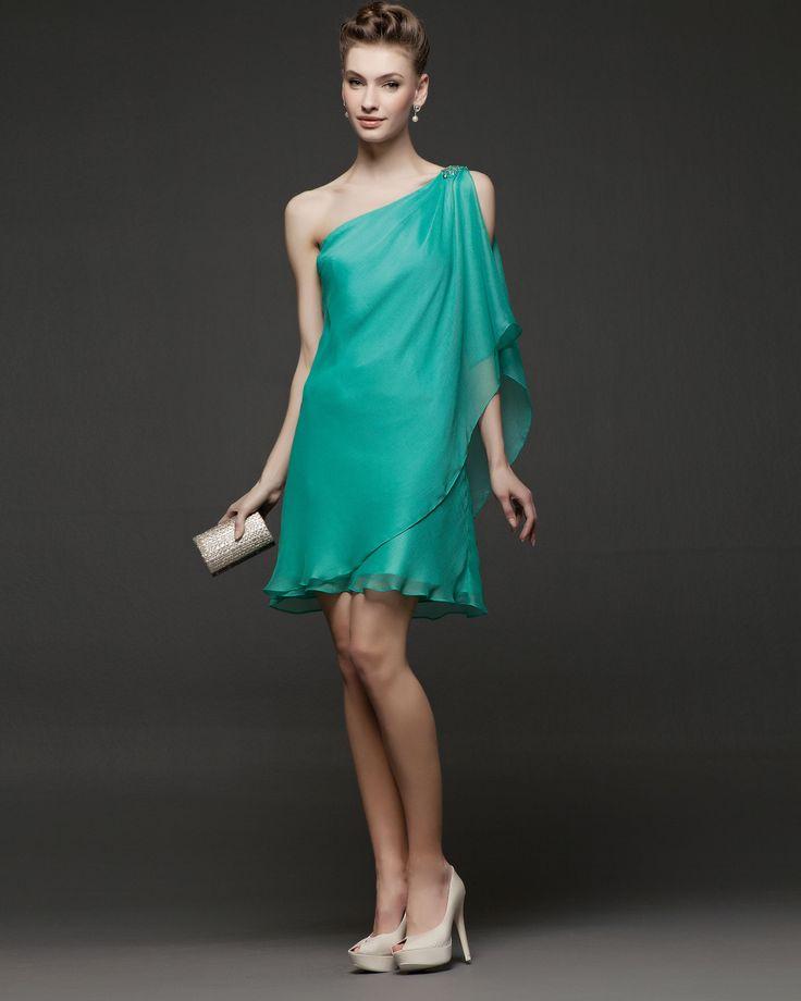 Mejores 127 imágenes de Vestidos de Invitadas en Pinterest | Boda ...