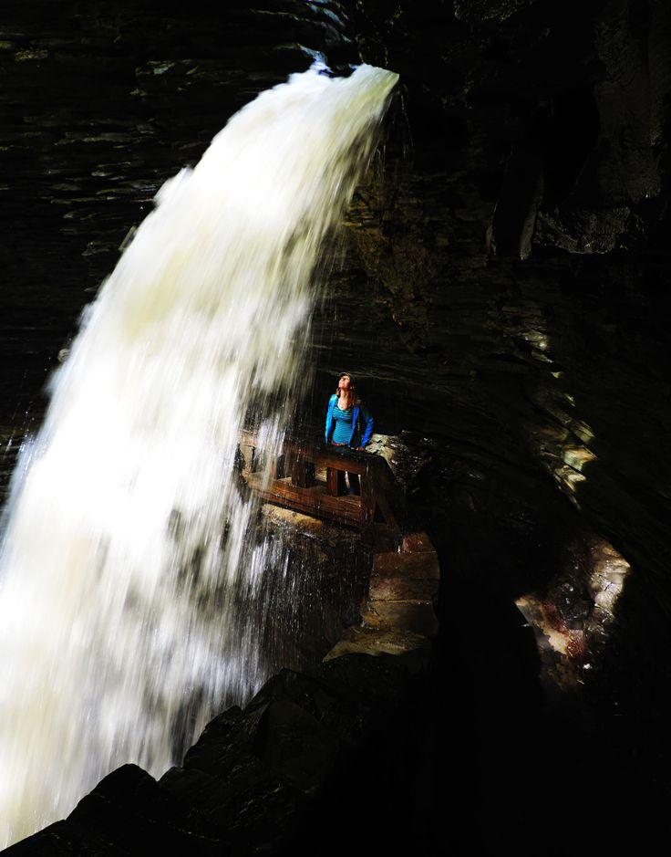 The Countless Waterfalls Of Watkins Glen, New York