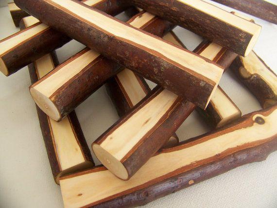 Log Building Blocks...love natural blocks!!!!