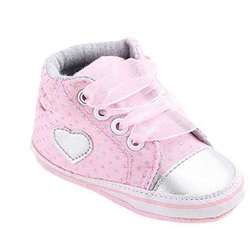 Oferta: 2.99€. Comprar Ofertas de Zapatos de bebé,Tongshi Forma de corazón de zapato de lona niña zapatos zapatillas antideslizante suave único niño del bebé ( barato. ¡Mira las ofertas!