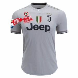 e81c9f6018a 2018-19 Cheap Authentic Jersey Juventus With Patches Away Grey Shirt   CFC749