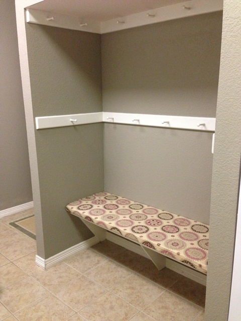 Laundry Room Bench Cover