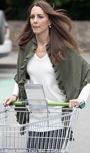 Catherine, Duchess of Cambridge shopping at Waitrose supermarket on the island of Anglesey, May 5, 2011.