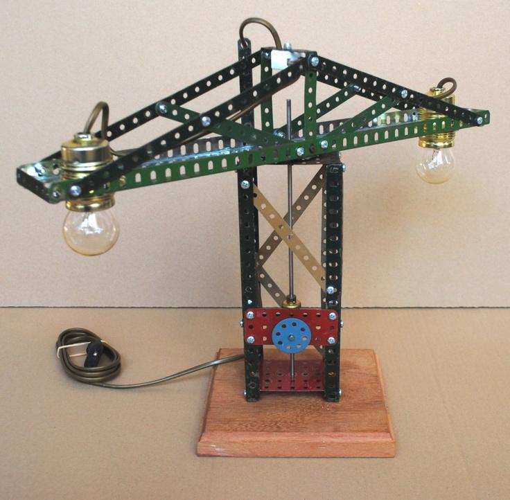 Meccano lamp no 7