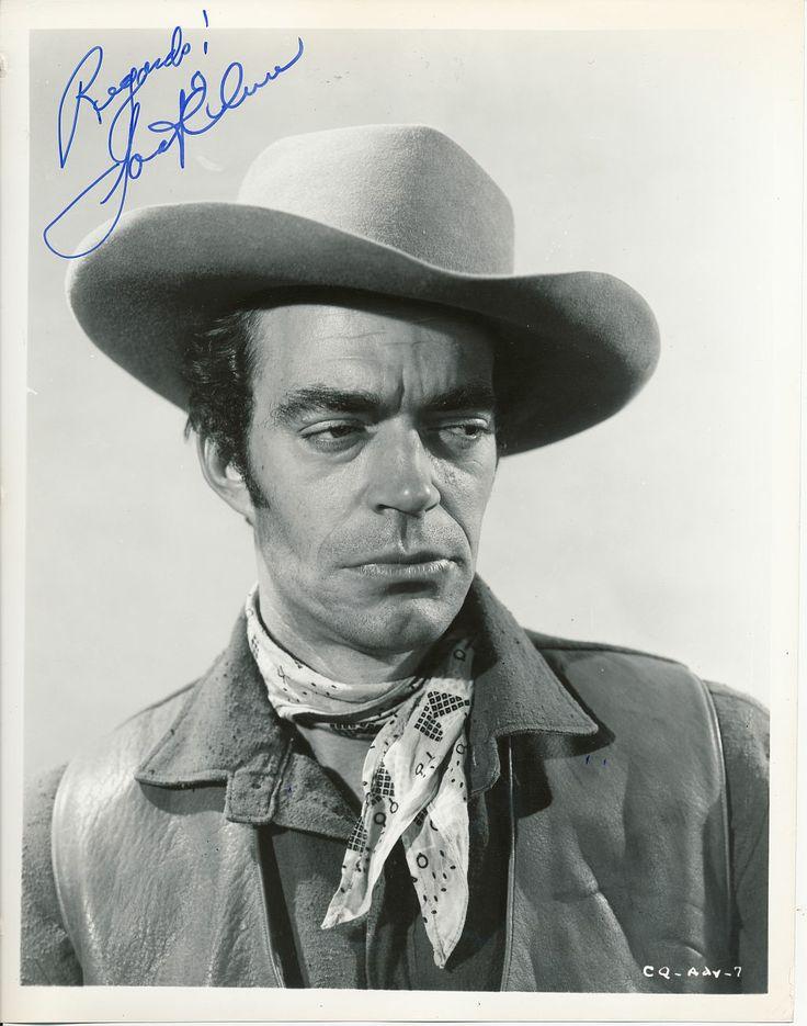 Jack Elam   Jack Elam signed 10x8 casual cowboy portrait