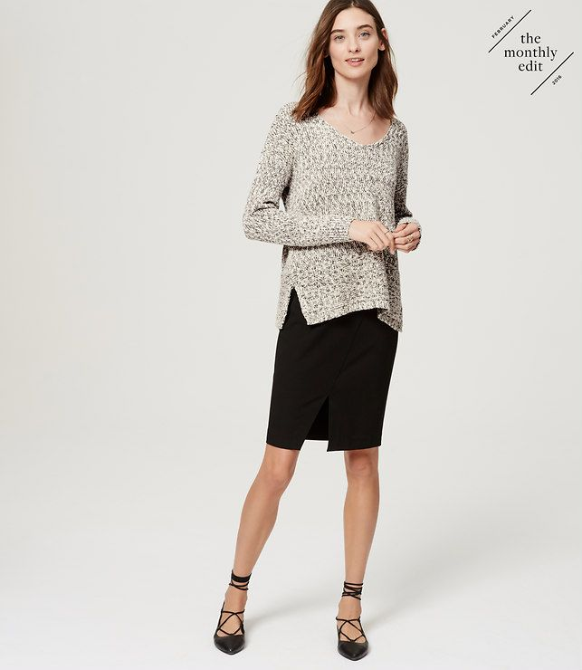 Primary Image of Marled Sweater