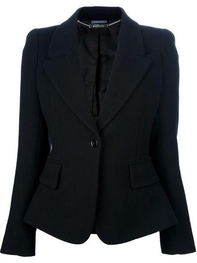 ALEXANDER MCQUEEN Single Button Jacket
