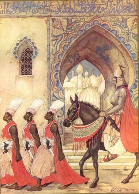 Anton Pieck, The Arabian Nights