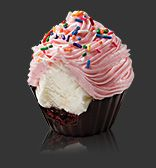 ice cream cupcakes from cold stone
