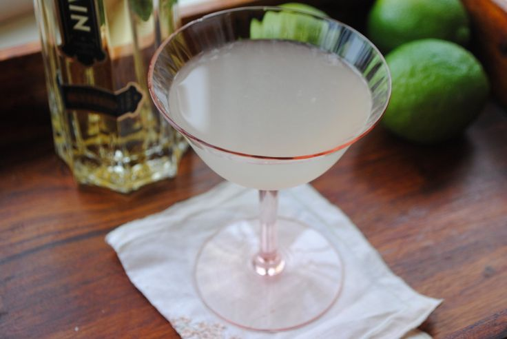 French Gimlet - gin, st. germain, lime juice