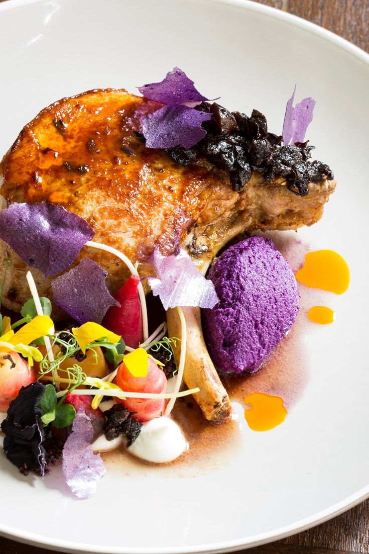 This beautiful, colourful pork chop recipe from Robert Ortiz reinvents a classic combination, pairing the meat with juicy prunes and red…