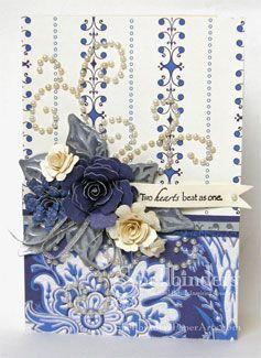 Two Hearts Wedding Card