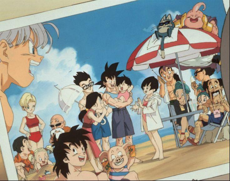 Dragon Ball Gt, Dragon Z, Fanarts Anime, Anime Characters, Manga Anime, Akira, Goku And Chichi, Manga Dragon, Familia Anime
