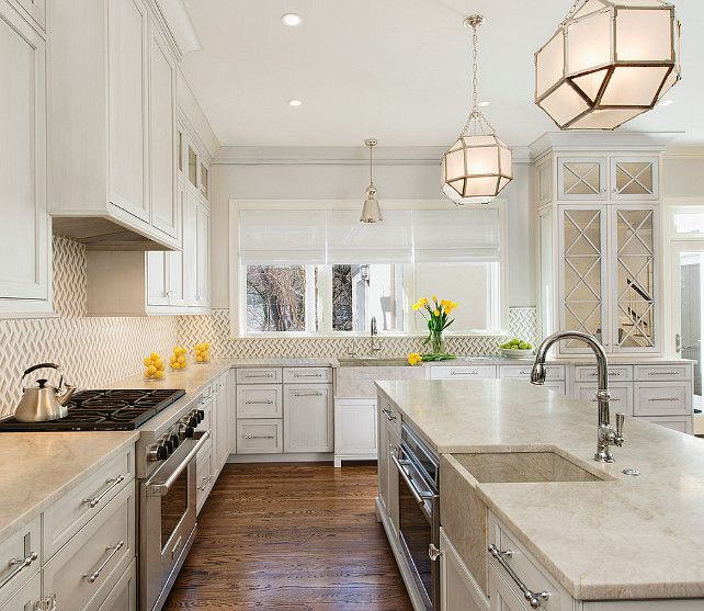 Pearl Grey Kitchen: Mother Of Pearl Countertop. Mother Of Pearl Granite