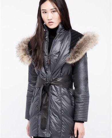 Rudsak Women's Sophie Coat in Grey/Black