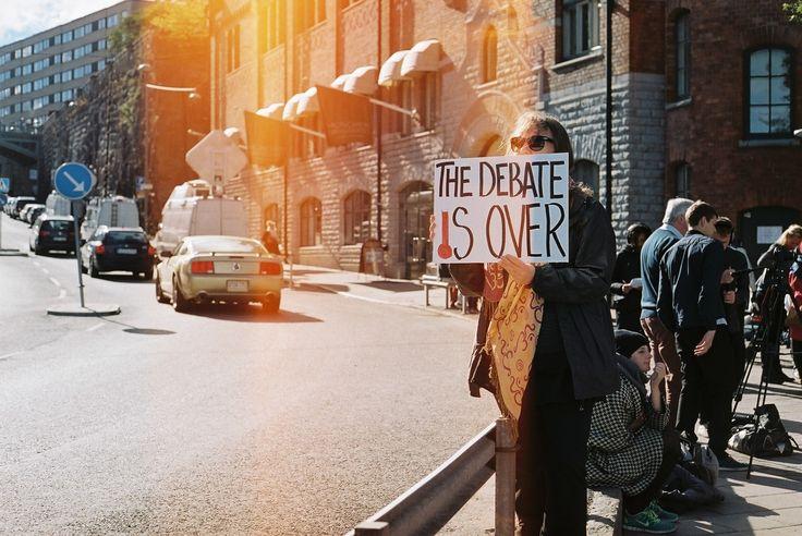 Debate Is Over - STHLM - Hello Analogue World