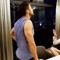 ryan gosling's arms=me hemorrhaging {gif}