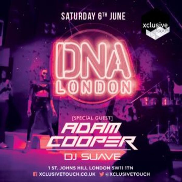 DNA Saturdays at DNA, Clapham Junction 1 St Johns Hill, London, SW11 1TN, UK on Jun 13, 2015 to Jun 14, 2015 at 10:00pm to 3:00am.  Contact Event Manager: Van for Guest list, info & Table bookings Email: van@xclusivetouch.co.uk Mob: 07723387032 Telephone: 0207 734 9116  URL: Booking: http://atnd.it/27783-0  Category: Nightlife  Price: General Admission Before 23:00 £10
