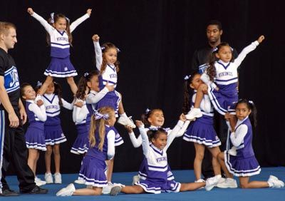 CHEER: Vikings cheerleaders shine in first competition - Free ...