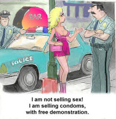 selling condoms